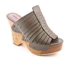 NWT Luxury Rebel wedge sandals